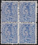 1897 2½d QV MLH Block of 4