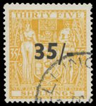 1939 35/- on 35/- Arms VFU